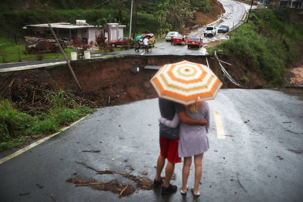 Puerto Rico Faces Extensive Damage After Hurricane Maria:ニュース(壁紙.com)