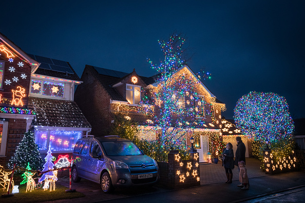 Christmas Lights「Households In Burnham-on-Sea Light Up For Christmas」:写真・画像(14)[壁紙.com]