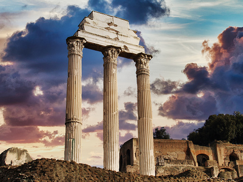 Ancient Civilization「Roman Pillar Ruins」:スマホ壁紙(14)