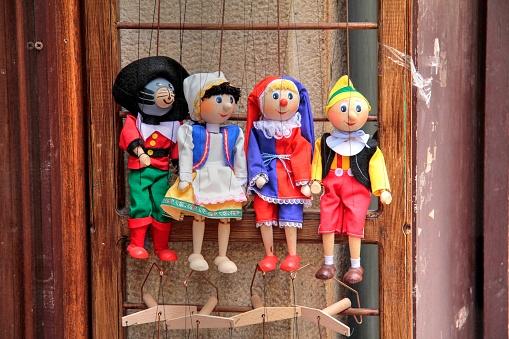 Marionette「Shop selling Marionettes at Prague Lesser Town, Central Bohemia, Czech Republic」:スマホ壁紙(14)
