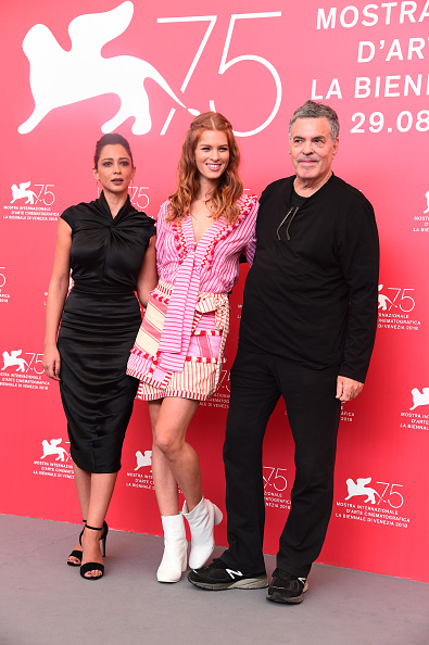 """Eamonn M「""""A Letter To A Friend In Gaza And Tramway In Jerusalem"""" Photocall - 75th Venice Film Festival」:写真・画像(0)[壁紙.com]"""