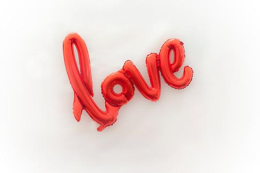 バレンタイン「Love balloon」:スマホ壁紙(2)