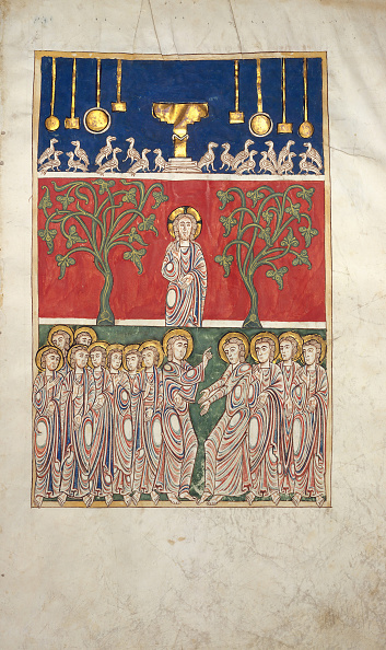 Jesus Christ「Leaf From A Beatus Manuscript: The Opening Of The Fifth Seal」:写真・画像(2)[壁紙.com]