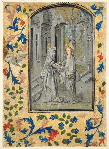 Tempera Painting「Leaf From A Book Of Hours: Annunciation To The Shepherds」:写真・画像(14)[壁紙.com]