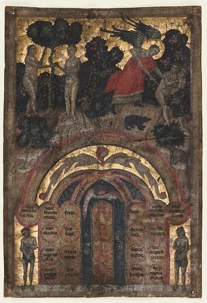 """Circa 14th Century「Leaf From A Volume Of Johannes Andreas """"Lectura Super Arboris Consanguinitatis...,」:写真・画像(10)[壁紙.com]"""