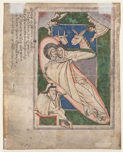 Manuscript「Leaf From A Psalter: Nativity (Verso)」:写真・画像(19)[壁紙.com]