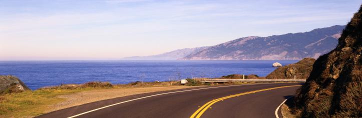 Big Sur「Coastal Highway in California」:スマホ壁紙(2)