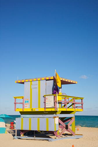 Miami Beach「Unusual lifeguard stand, Miami Beach」:スマホ壁紙(9)