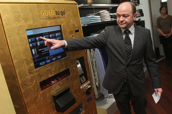 Corporate Business「Berlin's First 'Gold To Go' Vending Machine」:写真・画像(1)[壁紙.com]