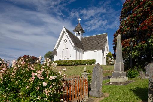 White Color「St Stephen's Church, Auckland」:スマホ壁紙(13)