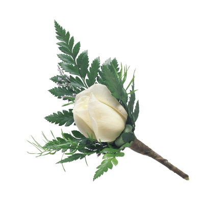 Frond「White Rose Boutonniere」:スマホ壁紙(14)