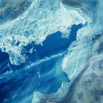 アラル海「Aral Sea Russia」:スマホ壁紙(10)