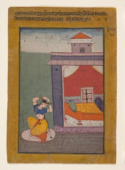 17th Century「Desvarati Ragini: Folio From A Ragamala Series (Garland Of Musical Modes)」:写真・画像(8)[壁紙.com]