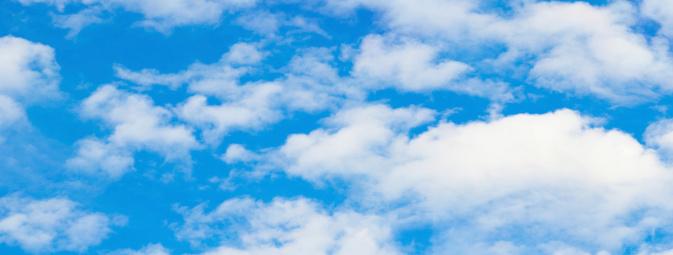 雲「雲模様のパノラマ」:スマホ壁紙(10)