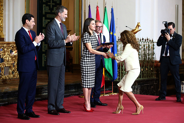 Human Interest「Spanish Royals Attend 'Bellas Artes' Golden Medal Awards」:写真・画像(16)[壁紙.com]
