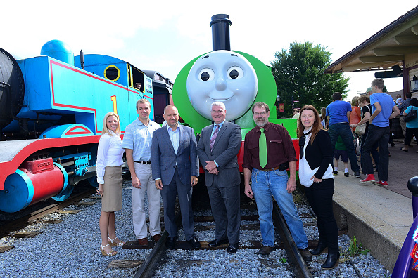 Lisa Lake「Day Out With Thomas: The Thrill Of The Ride Tour 2014 Goes Green As Thomas The Tank Engine's Best Friend Percy Makes North American Debut」:写真・画像(3)[壁紙.com]