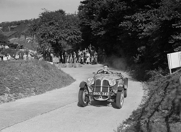 CG「Frazer-Nash BMW 319/55 of CG Fitt competing in the VSCC Croydon Speed Trials, 1937」:写真・画像(5)[壁紙.com]
