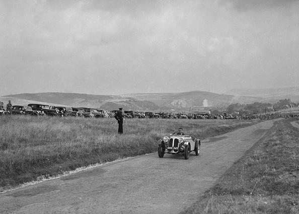 CG「Frazer-Nash BMW 319/55 of CG Fitt at the Bugatti Owners Club Lewes Speed Trials, Sussex, 1937」:写真・画像(9)[壁紙.com]