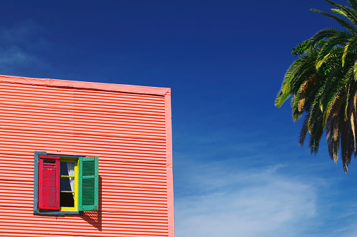 Buenos Aires「Brightly Painted House in La Boca」:スマホ壁紙(2)