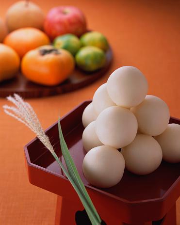 月見だんご「Rice Dumpling」:スマホ壁紙(8)