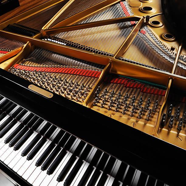 Grand piano:スマホ壁紙(壁紙.com)