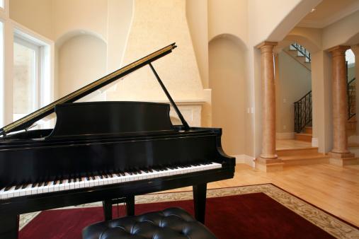 Music「Grand Piano in Luxury Living Room」:スマホ壁紙(9)