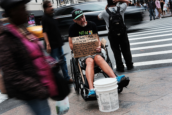 USA「Homelessness In New York City Surges 39 Percent In 2016」:写真・画像(15)[壁紙.com]