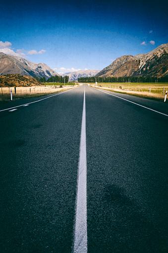 ニュージーランド南アルプス「アーサーのパスの道, 新しいニュージーランド」:スマホ壁紙(13)