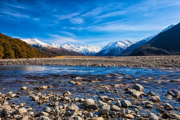 アーサーのパスやニュージーランドの南アルプス山脈:スマホ壁紙(壁紙.com)