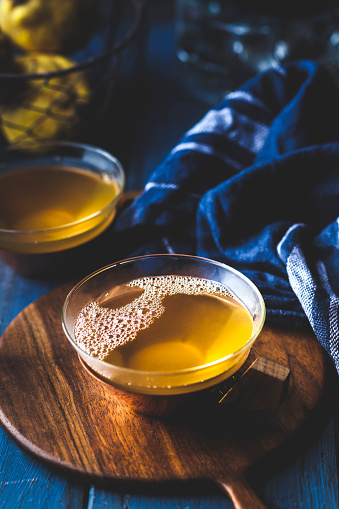 カリン「Tea cup of homemade hot quince infusion」:スマホ壁紙(2)