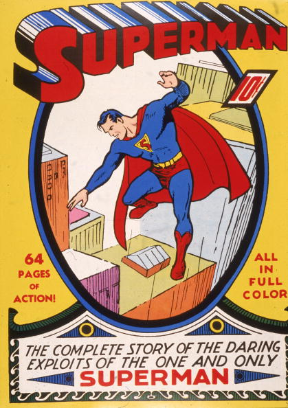 Humor「'Superman' Comic Book Cover 」:写真・画像(0)[壁紙.com]