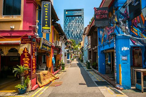 Singapore「Haji Lane in Singapore」:スマホ壁紙(18)