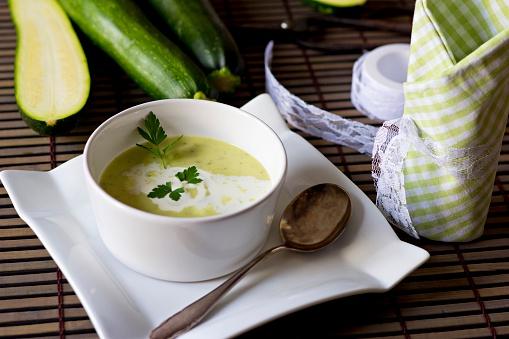 Mash - Food State「Bowl of zucchini potato soup」:スマホ壁紙(4)