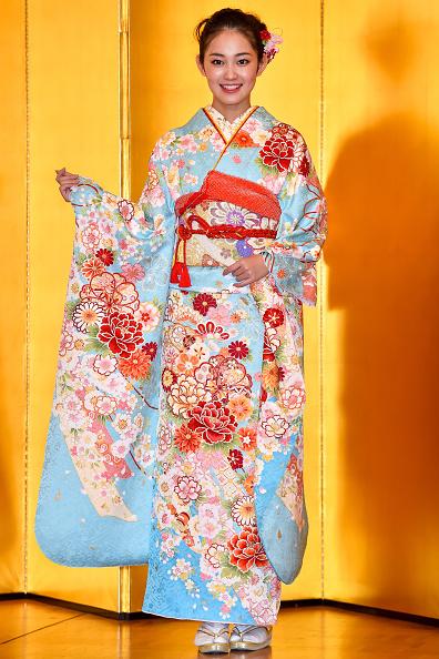 Kimono「Oscar Promotion Holds New Year's Kimono Photocall」:写真・画像(16)[壁紙.com]