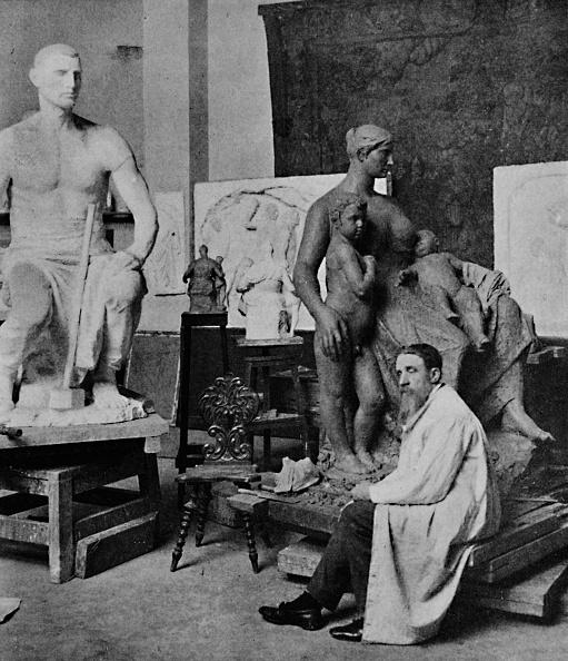 Sculptor「'Constantin Meunier in his Studio', 1905」:写真・画像(5)[壁紙.com]