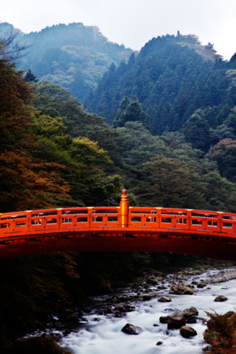 Nikko City「Bridge over river」:スマホ壁紙(11)