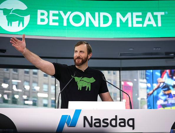 Meat「Meatless Burger Company Beyond Meat Goes Public On Nasdaq Exchange」:写真・画像(12)[壁紙.com]