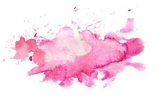 Pink「抽象的なピンクの水彩バックグラウンド」:スマホ壁紙(12)