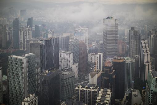 Kuala Lumpur「Kuala Lumpur cityscape from Menara Kuala Lumpur tower」:スマホ壁紙(10)