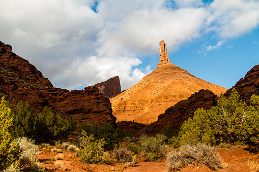 Utah「Castleton Tower, Castle Valley, Utah, USA」:スマホ壁紙(1)