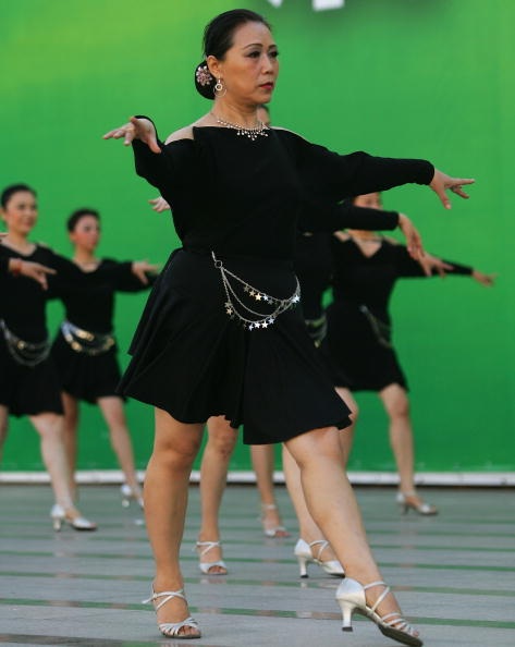 Focus On Foreground「Folk Dance Competition Held In Beijing」:写真・画像(11)[壁紙.com]