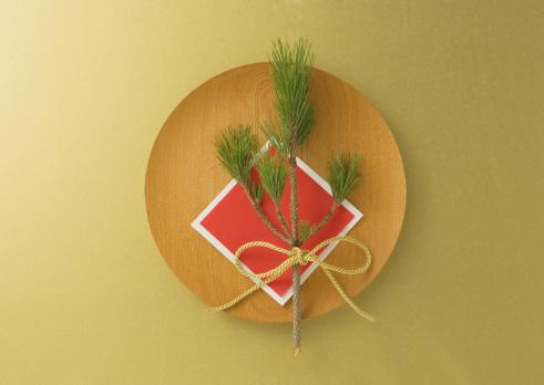 お正月「New Year decoration」:スマホ壁紙(7)