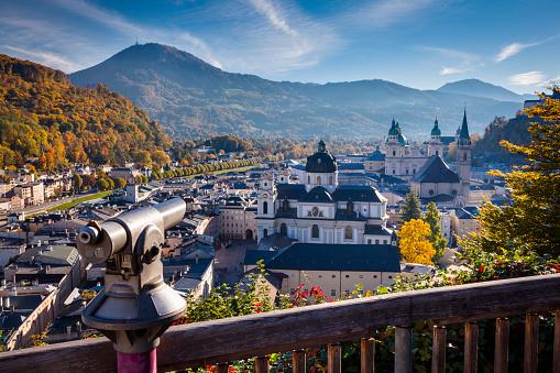 Austria「Salzburg in autumn」:スマホ壁紙(9)