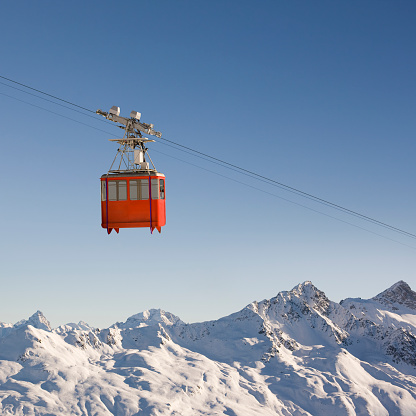 Switzerland「Mountain Cable Car」:スマホ壁紙(15)