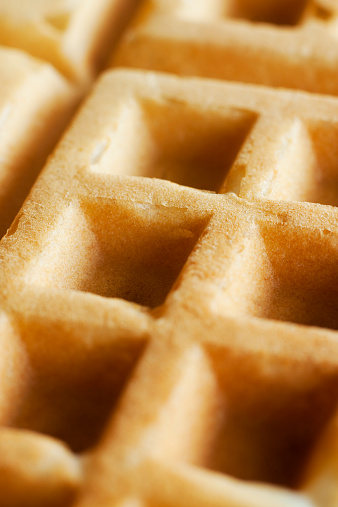 Waffled「Homemade Waffle Close-up」:スマホ壁紙(14)