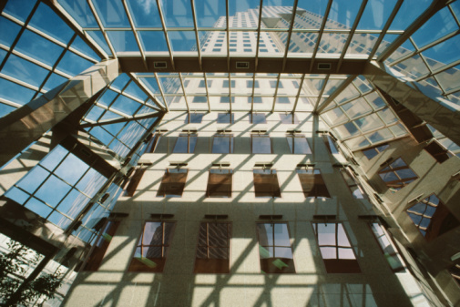 Skylight「Interior architecture of Park Place Tower in Vancouver, British Columbia, Canada」:スマホ壁紙(19)