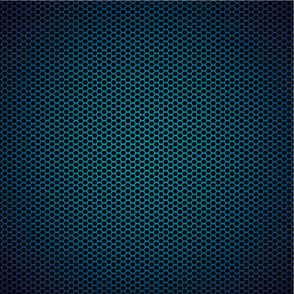 Vector「Abstract blue metal hexagon background with honeycomb effect」:スマホ壁紙(6)