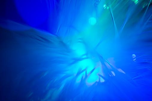 Back Lit「Abstract blue lights」:スマホ壁紙(6)