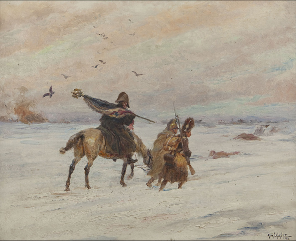 Painting - Activity「Standard-Bearer During The Retreat From Russia」:写真・画像(8)[壁紙.com]