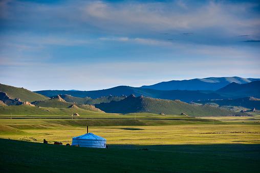 Independent Mongolia「Mongolia, nomad camp, yurt」:スマホ壁紙(19)